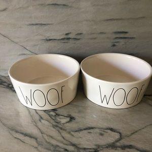 Raw Dunn Extra Large Dog Bowl - Set of 2
